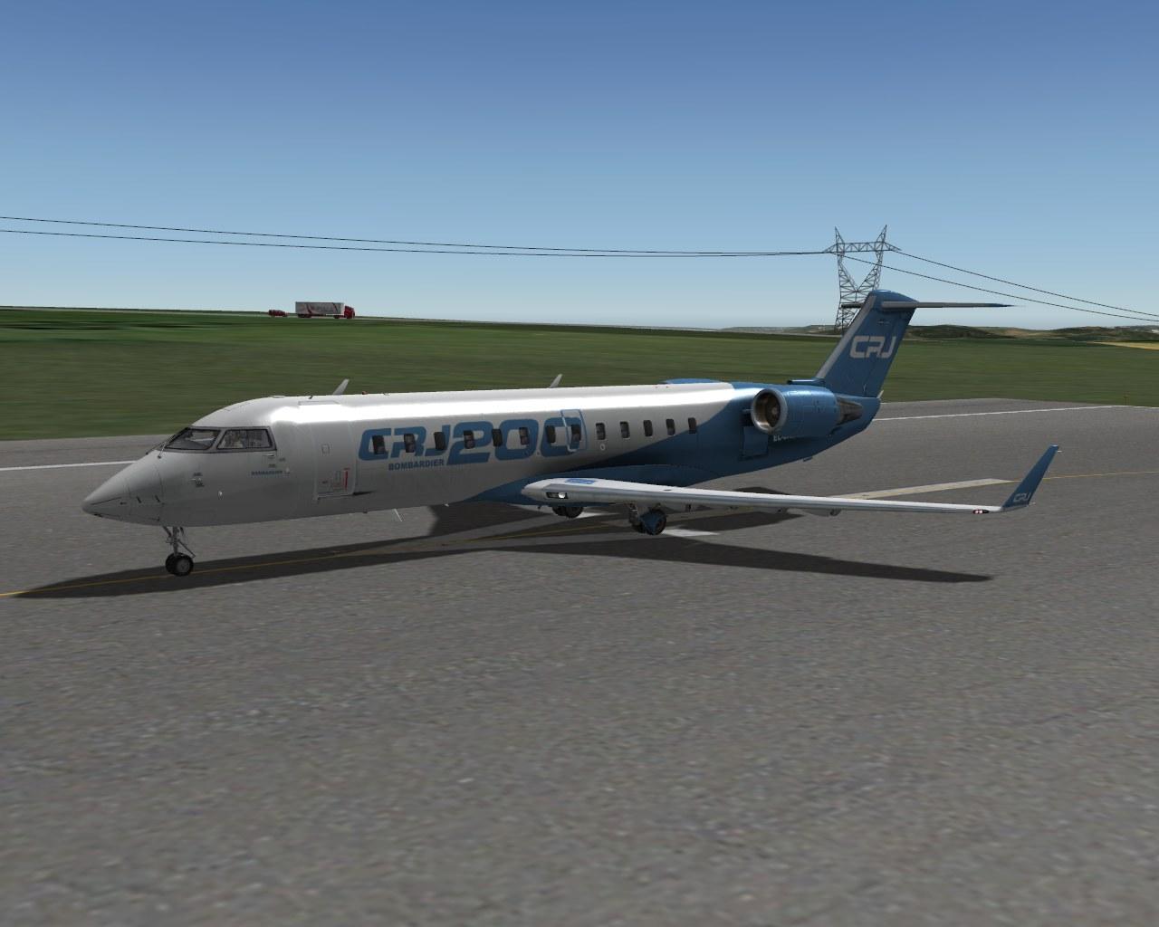 CRJ-200 available !